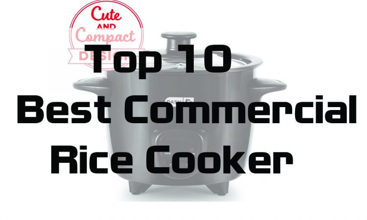 White Royal Cook RC-77101 10-Cup Persian Rice Cooker with Glass Lid