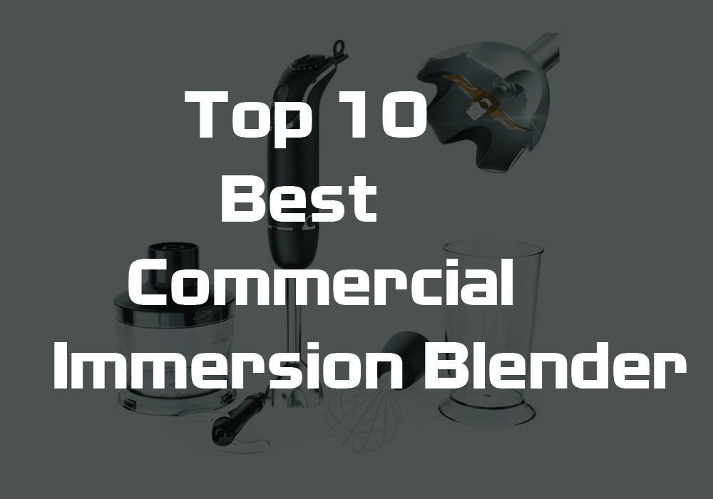 best commercial immersion blender