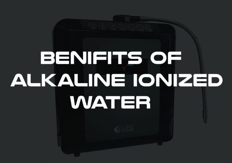 benefits of alkaline ionized water