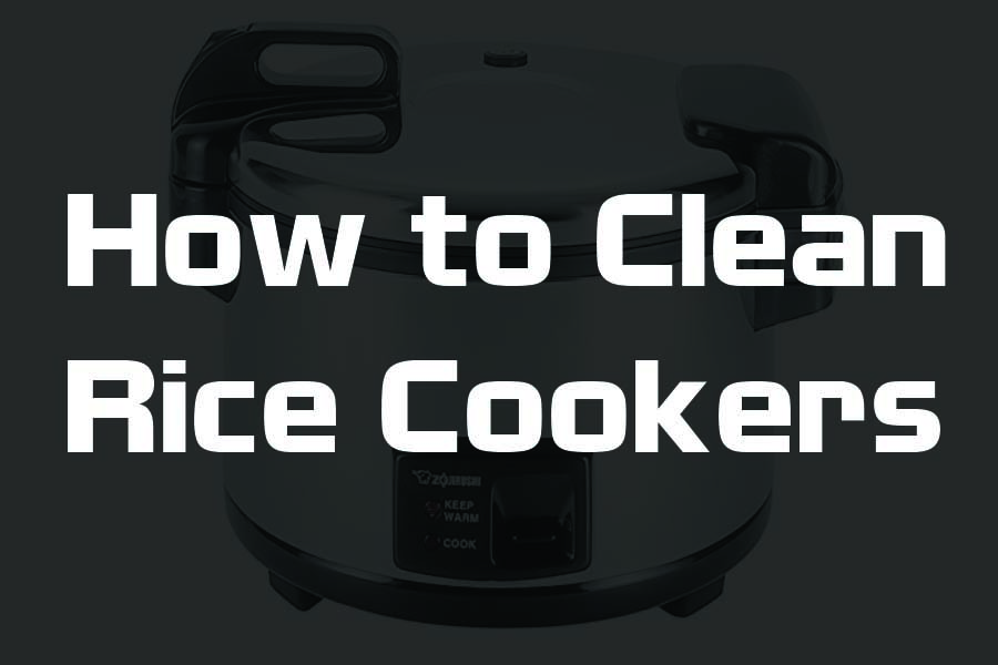 how to clean a rice cooker