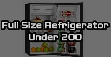 Full Size Refrigerator Under 200
