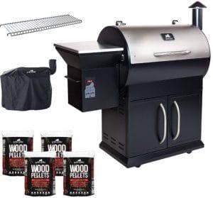 grilla grills silverbac alpha pellet grill