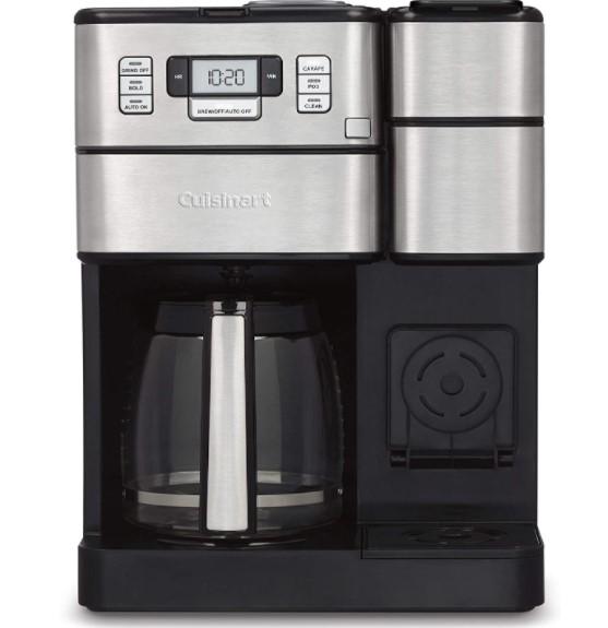 single serve coffee maker with grinder